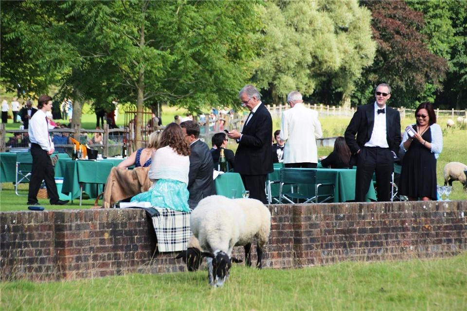 Großbritannien Picknick Opernfestival