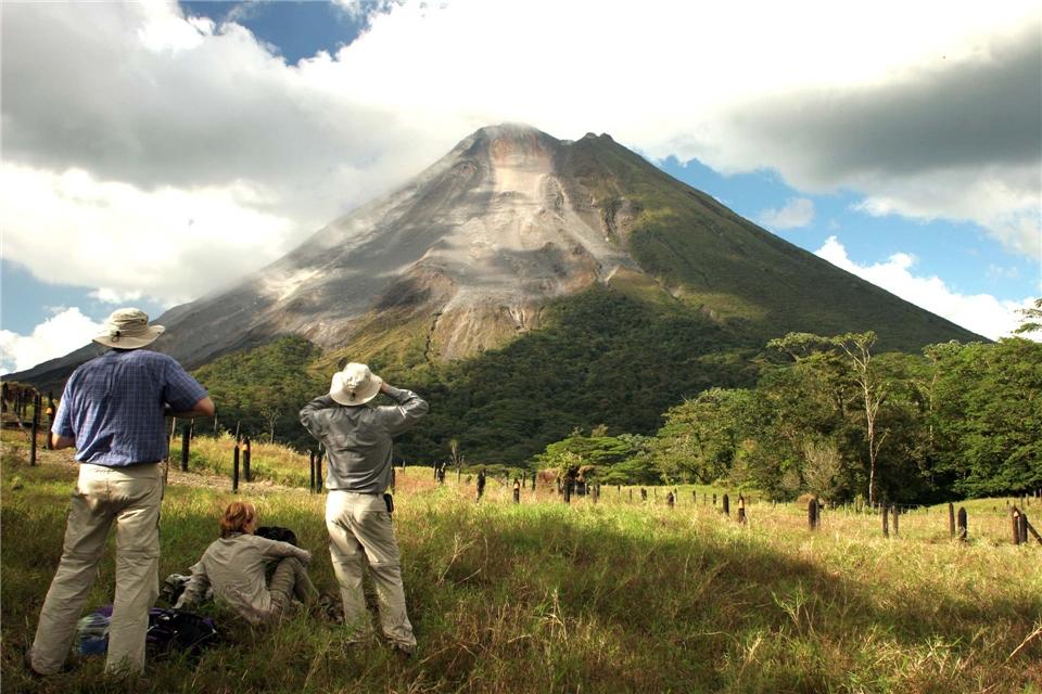 Mittelamerika Vulkan Arenal