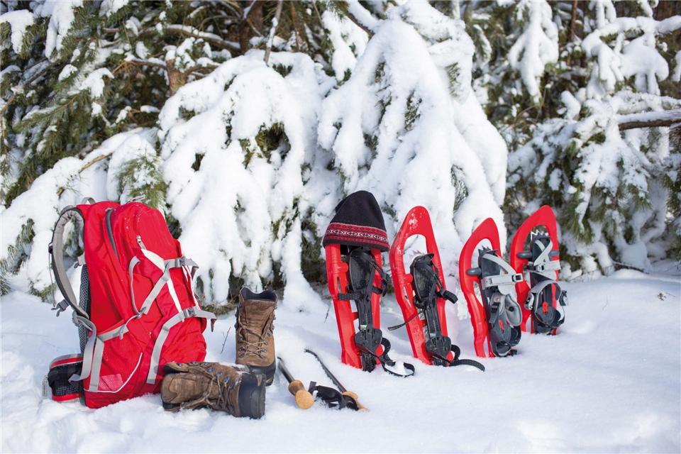 Lappland Schneeausrüstung