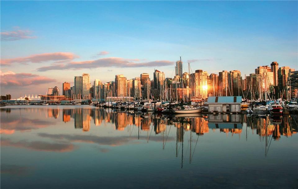 Kanada - Vancouver Skyline