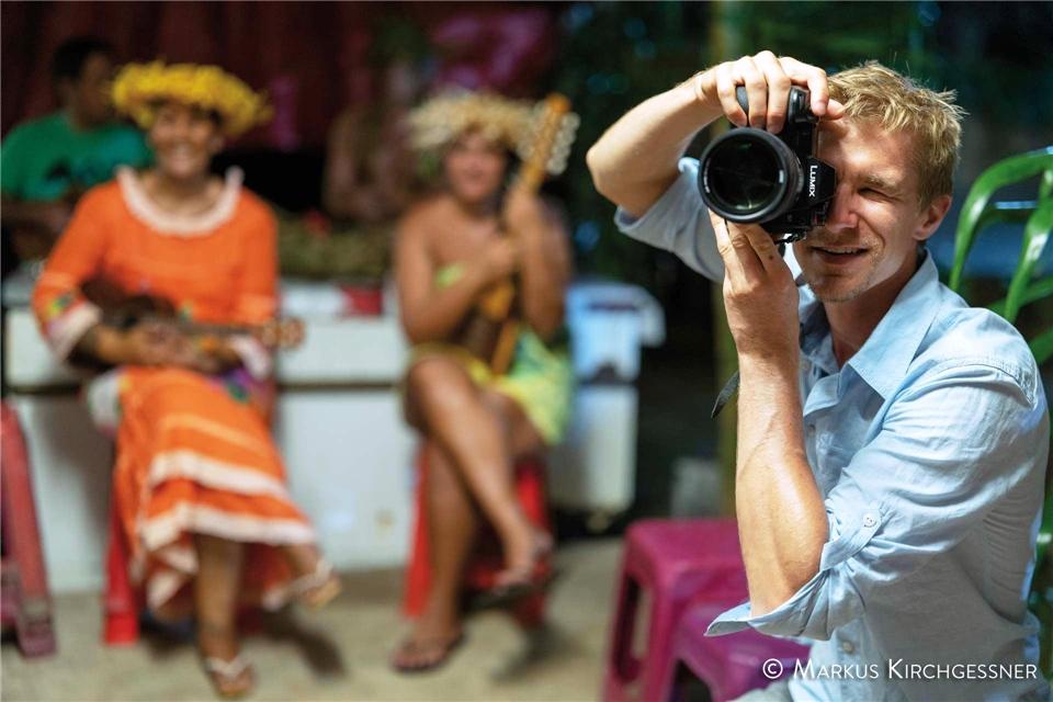 Portrait eines Inselparadieses ELK Cultural Center auf Moorea