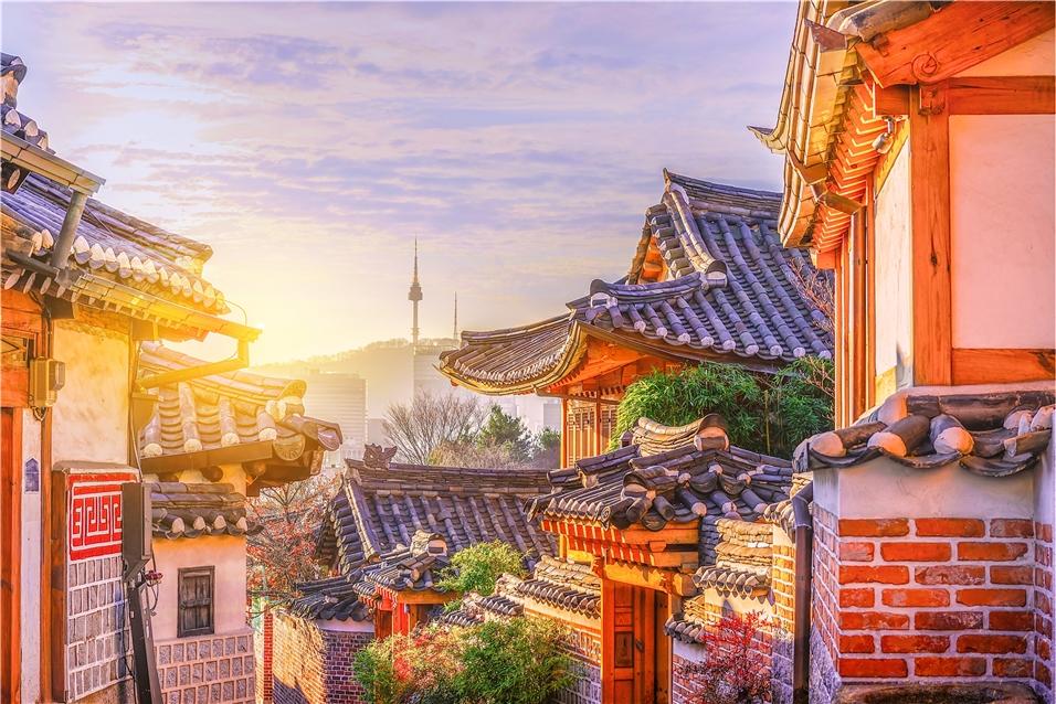 Korea Stadtansicht