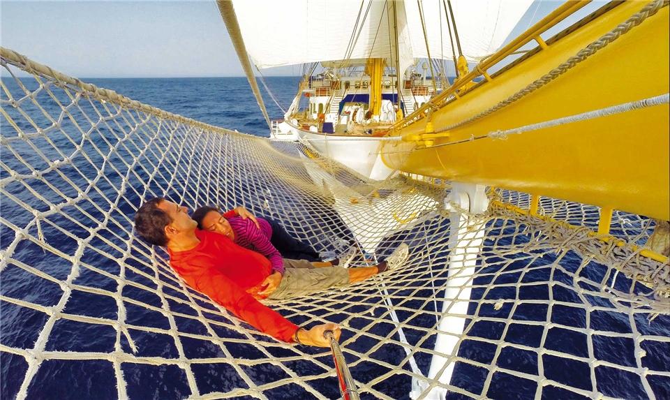 Royal Clipper Mittelmeer - auf See